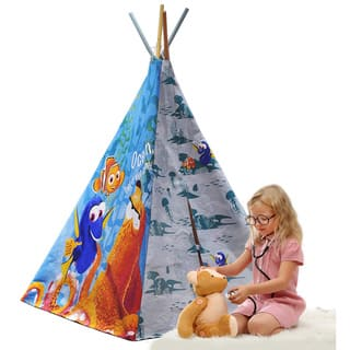 Finding Dory Canvas 2-person Play Teepee|https://ak1.ostkcdn.com/images/products/13049331/P19787869.jpg?impolicy=medium