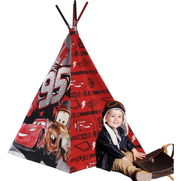 Disney Cars Canvas 2-person Play Teepee