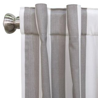 Skyline Cotton Canopy Stripe Window Curtain Panel