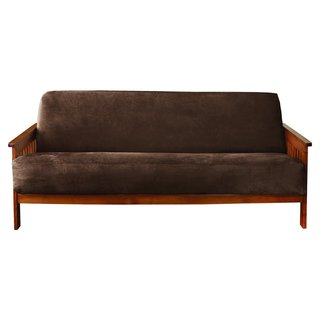 Sure Fit Suede Futon Slipcover