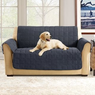 Sure Fit Ultimate Waterproof Quilted Loveseat Furniture Protector