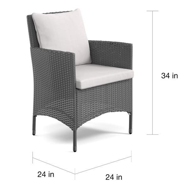 Peachy Shop Havenside Home Stillwater Grey Indoor Outdoor Arm Pdpeps Interior Chair Design Pdpepsorg