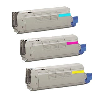 3PK Compatible 44844511 44844510 44844509 Toner Cartridge For OKI C831DN C831N ( Pack of 3 )