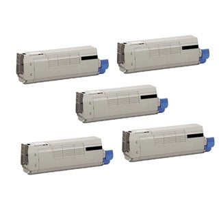 5PK Compatible 44844512 Toner Cartridge For OKI C831DN C831N ( Pack of 5 )