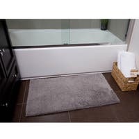 Home Dynamix Alpine Collection Solid Ultra-Soft Bath Mat - 2 sizes available