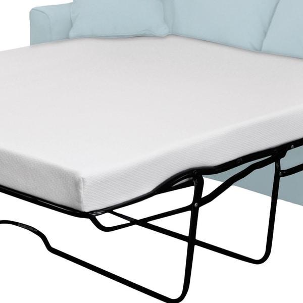 Select Luxury FullSize Sleeper Sofa Gel Memory Foam Mattress
