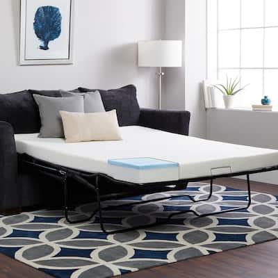 Select Luxury Sleeper Sofa Replacement Gel Memory Foam Mattress