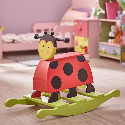 Teamson Fantasy Fields Magic Garden Lady Bug Rocker