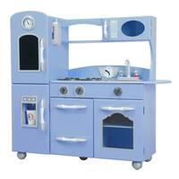 Teamson Kids Serenity Blue Retro Play Kitchen
