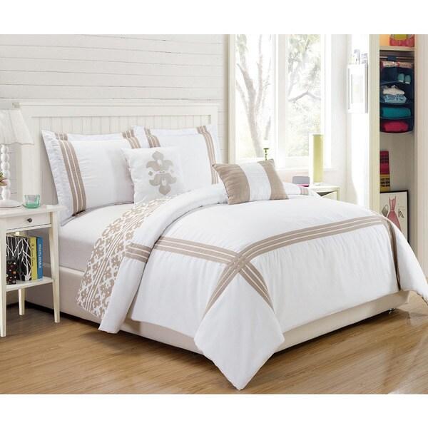 5-Piece Reversible Hotel Barrington Comforter Set