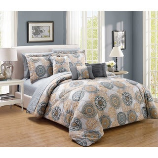 10-Piece Gramercy Comforter and Sheet Set