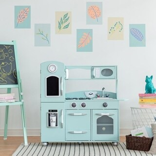 Teamson Kids Mint Retro Play Kitchen