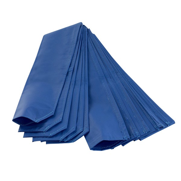 Trampoline Blue PE Material Pole Sleeve Protector (Pack of 6)