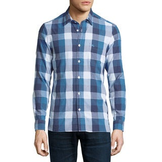 Burberry Julian Blue Buffalo Blue Check Shirt