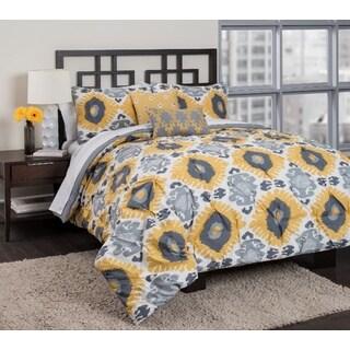 Republic Raina 4-piece Reversible Comforter Set