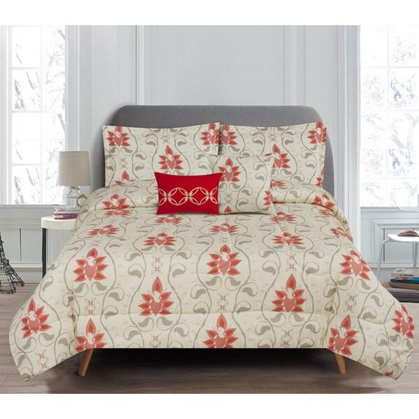 5-Piece Reversible Colby Comforter Set