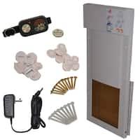 Shop Large Power Pet Low E Fully Automatic Patio Door