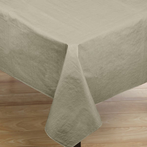 Polyester and synthetic fiber vinyl flannelback 52 inch x for Table runners 52 inches