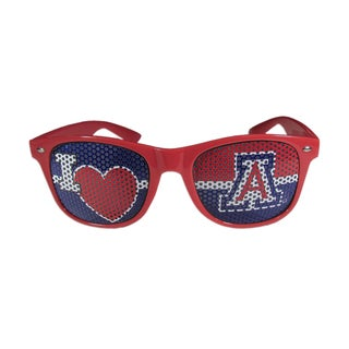 Siskiyou NCAA Arizona Wildcats I Heart Game Day Red Polycarbonate Shades