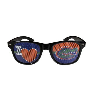 Siskiyou NCAA Florida Gators 'I Heart Game Day' Black-frame Shades