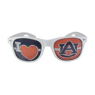 Siskiyou NCAA Auburn Tigers White 'I Heart Game Day' Shades