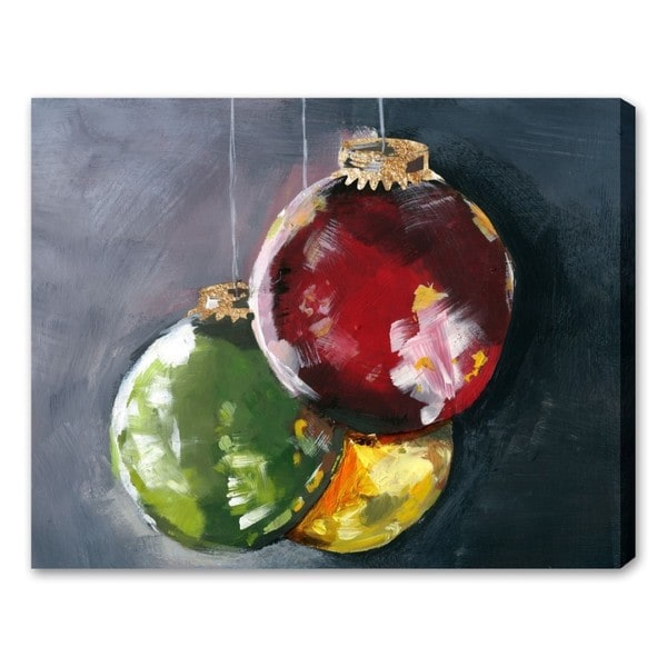 Oliver Gal 'Ornaments' Canvas Art
