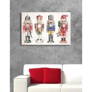 Oliver Gal 'Nutcrackers'  Canvas Art