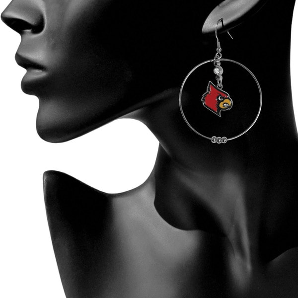 Siskiyou NCAA Hoop Earrings 2-Inch