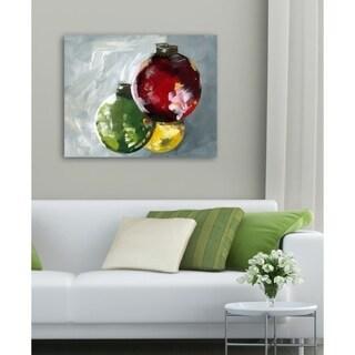 Oliver Gal 'Ornaments 2'  Canvas Art