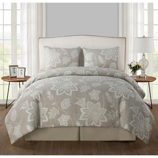 VCNY Ramona Woven Jacquard 4-piece Comforter Set