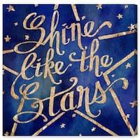 Oliver Gal 'Shine Like the Stars'  Canvas Art