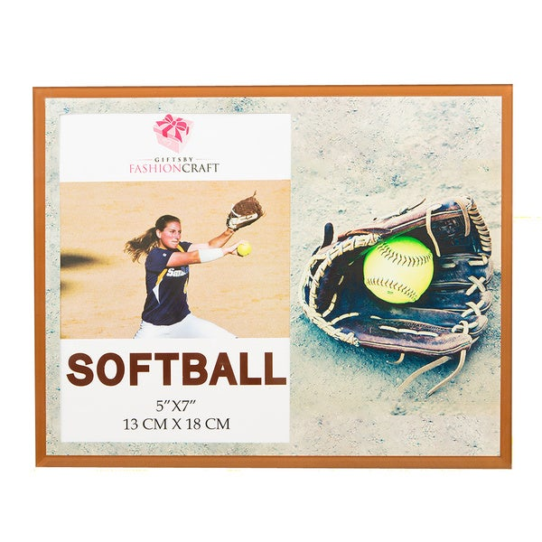 Softball 5 x 7-inch Picture Frame