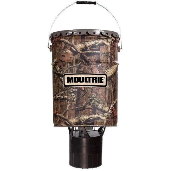 Moultie Pro Hunter Plastic 6.5-Gallon Hanging Feeder