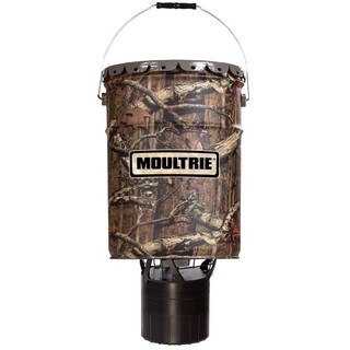Moultie Pro Hunter Plastic 6.5-Gallon Hanging Feeder