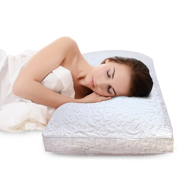 SwissLux Elegance Quilted Pillow Cover