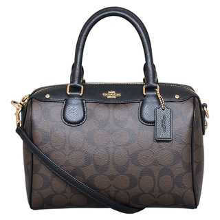 Coach Mini Signature Bennet Satchel