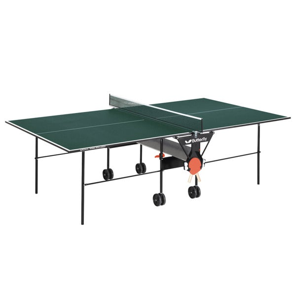 Butterfly Home Rollaway Green Wood Table Tennis Table