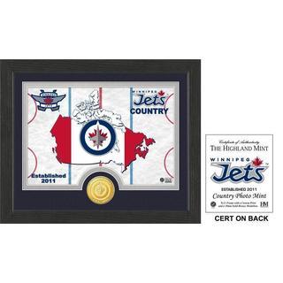 "Winnipeg Jets ""Country"" Bronze Coin Photo Mint"