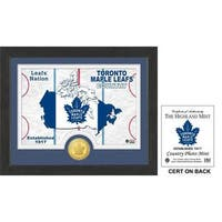 """Toronto Maple Leafs """"Country"""" Bronze Coin Photo Mint"""