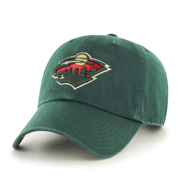Minnesota Wild NHL Clean Up Cap