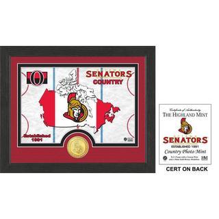 """Ottawa Senators """"Country"""" Bronze Coin Photo Mint"""