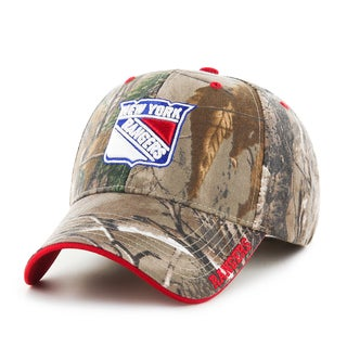 New York Rangers NHL RealTree Cap