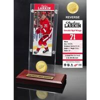 Dylan Larkin Ticket & Bronze Coin Acrylic Desk Top