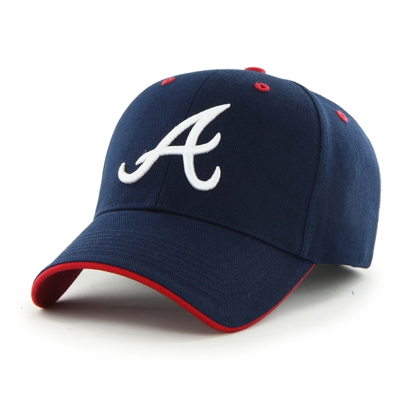 Atlanta Braves MLB Youth Fit Money Maker Cap