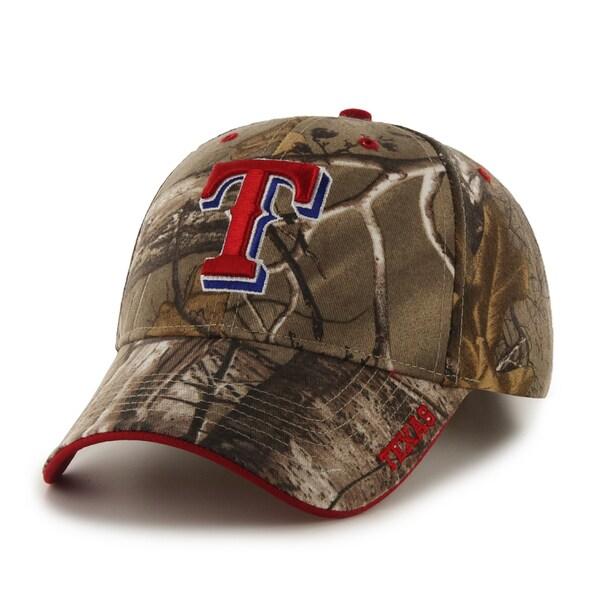 Texas Rangers MLB RealTree Cap
