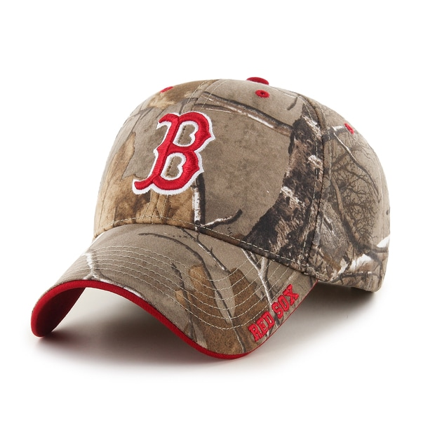 25aafe5a786c7 Shop Boston Red Sox MLB RealTree Cap - Free Shipping On Orders Over  45 -  Overstock - 13055339