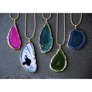 Mint Jules 24k Gold Overlay 30-inch Agate Slice Pendant Necklace|https://ak1.ostkcdn.com/images/products/13055590/P19793397.jpg?_ostk_perf_=percv&impolicy=medium