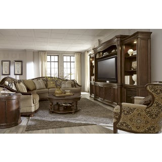 A.R.T. Furniture La Viera Entertainment Console with Piers
