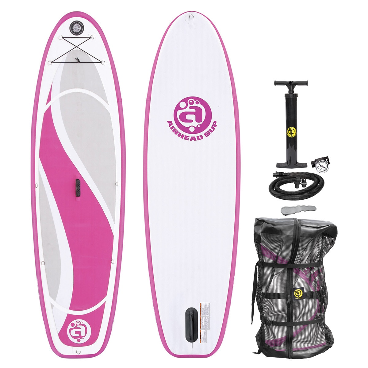 Airhead Bliss 930 White and Pink Inflatable Stand-up Paddleboard (Stand Up Paddleboard)