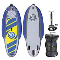 Airhead Rapiddz 938 PVC Inflatable Stand-up Paddleboard